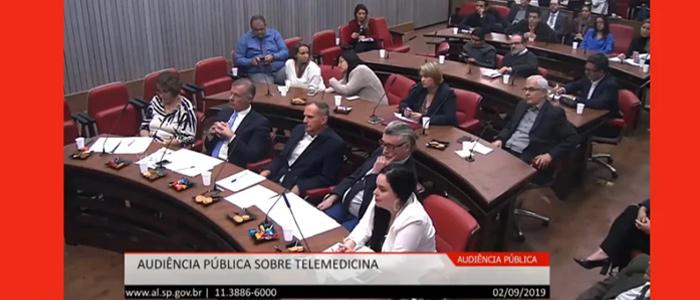 Assista à Audiência Pública sobre Telemedicina realizada no dia 02/09/2019, com a participação do Prof. Chao Lung Wen